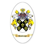 Hawkings Sticker (Oval 50 pk)