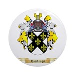 Hawkings Ornament (Round)