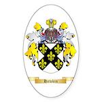 Hawkin Sticker (Oval 10 pk)