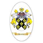 Hawkin Sticker (Oval 50 pk)