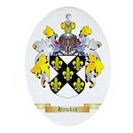 Hawkin Ornament (Oval)