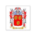Hawkey Square Sticker 3