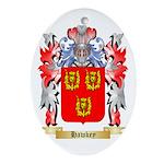 Hawkey Ornament (Oval)