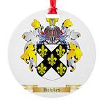Hawkes Round Ornament