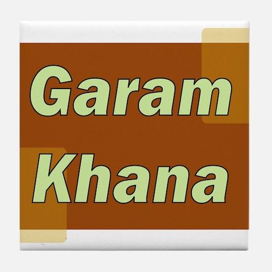 Garam Khana Tile Coaster