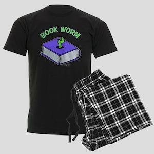 Book Worm Men's Dark Pajamas