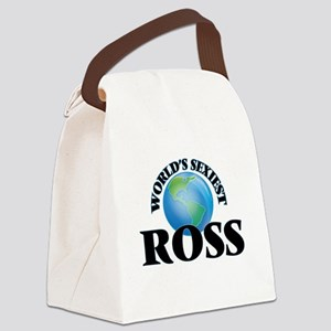 World's Sexiest Ross Canvas Lunch Bag