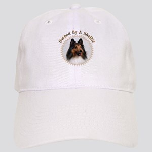 Owned By A Sheltie 999 Baseball Cap