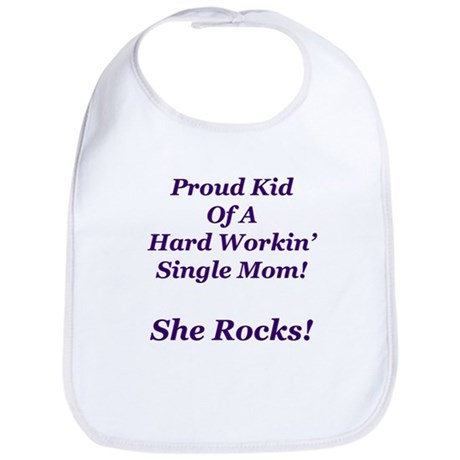 My Mom Rocks! Bib