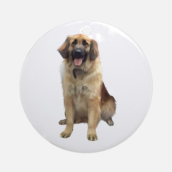 Great Pyrenees (ld) Ornament (round)