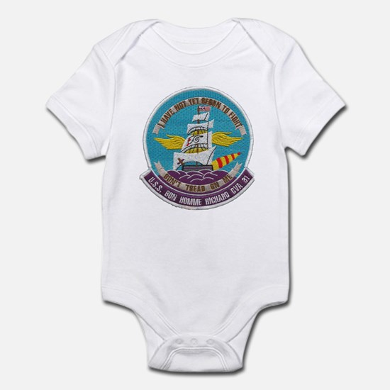 USS BON HOMME RICHARD Infant Bodysuit