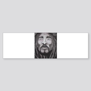 Black Jesus Bumper Sticker
