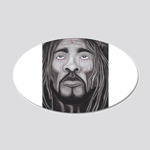 Black Jesus Wall Decal