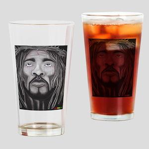 Black Jesus Drinking Glass
