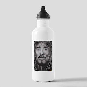 Black Jesus Water Bottle