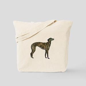 Greyhound (brindle) Tote Bag