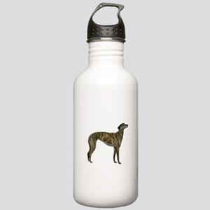 Greyhound (brindle) Stainless Water Bottle 1.0L