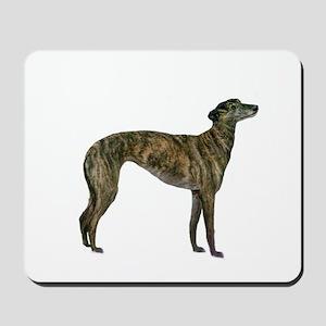 Greyhound (brindle) Mousepad