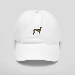 Greyhound (brindle) Cap
