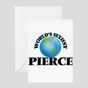 World's Sexiest Pierce Greeting Cards