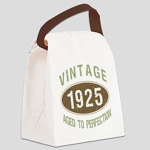 1925 Vintage Birth Year Canvas Lunch Bag