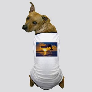 Lone Palm Tree Dog T-Shirt