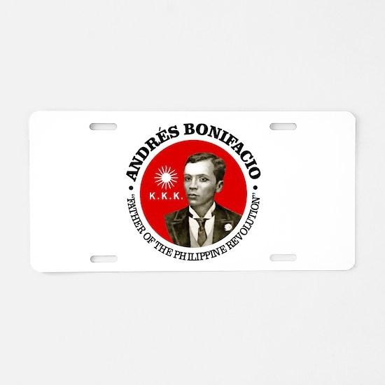 Bonifacio Aluminum License Plate