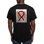 Burgundy Ribbon Awarnesss Angel T-Shirt