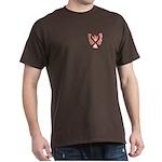 Burgundy Ribbon Angel T-Shirt