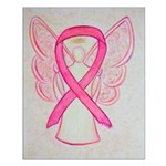 Pink Ribbon Angel Posters