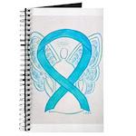Turquoise Ribbon Angel Journal