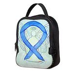 Blue Ribbon Angel Neoprene Lunch Bag