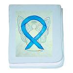 Blue Ribbon Angel baby blanket