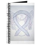 Gray Ribbon Angel Journal