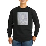 Gray Ribbon Angel Long Sleeve T-Shirt