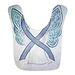 Gray Ribbon Angel Bib