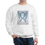 Gray Ribbon Angel Sweatshirt