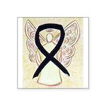 Black Ribbon Angel Sticker