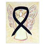 Black Ribbon Angel Posters