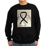 Black Ribbon Angel Sweatshirt