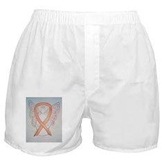 Gold Ribbon Angel Boxer Shorts