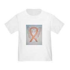 Gold Ribbon Angel T-Shirt