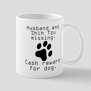Husband And Shih Tzu Missing Mugs