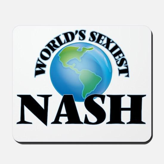 World's Sexiest Nash Mousepad