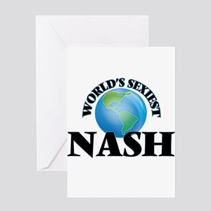 World's Sexiest Nash Greeting Cards