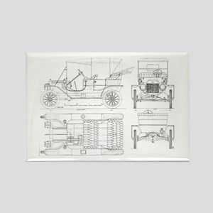 Model T Blueprints Magnets