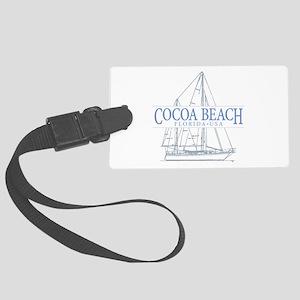 Cocoa Beach - Large Luggage Tag