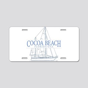 Cocoa Beach - Aluminum License Plate