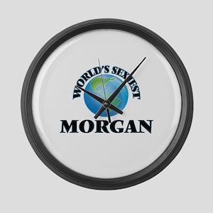 World's Sexiest Morgan Large Wall Clock