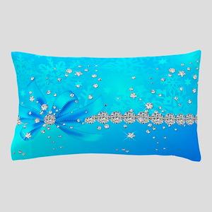 Frozen Snowflakes Pillow Case